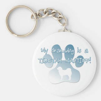 Tibetan Mastiff Granddog Keychain