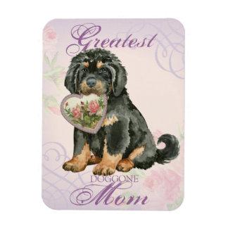 Tibetan Mastiff Heart Mom Magnet