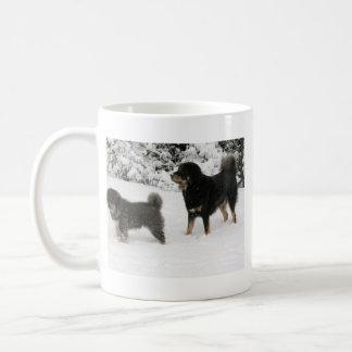 Tibetan Mastiff Jampo & Milo Coffee Mug