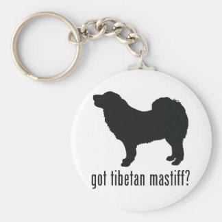 Tibetan Mastiff Keychain