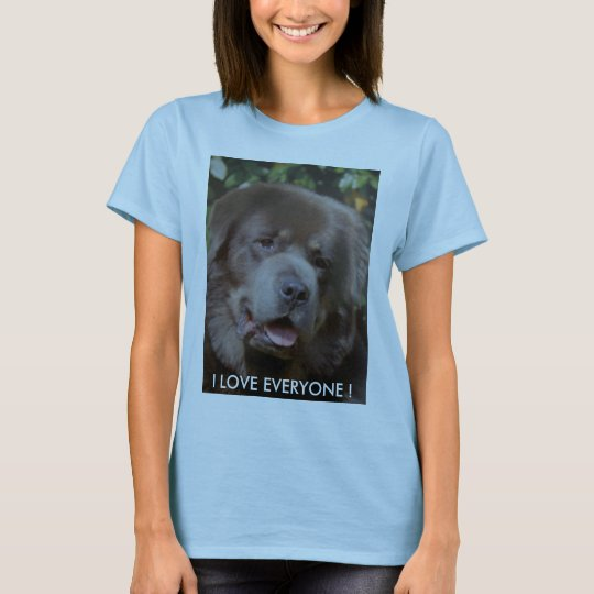 Tibetan Mastiff Ladies T.shirt T-Shirt