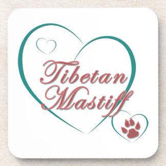 Tibetan Mastiff Love Coasters