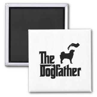 Tibetan Mastiff 2 Inch Square Magnet