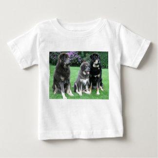 Tibetan Mastiff Puppy with adults Baby T-Shirt