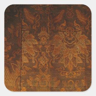 Tibetan Monk's Robe Square Sticker