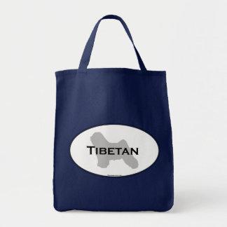 Tibetan Oval Tote Bag