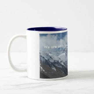 Tibetan Peak of Everest Two-Tone Coffee Mug