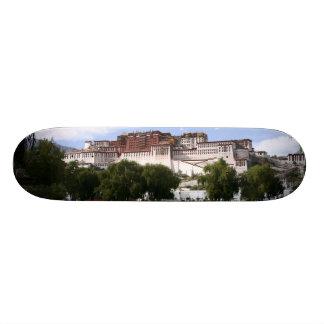Tibetan Potala Palace skateboard