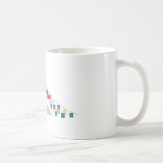 Tibetan Prayer Flags Coffee Mug