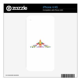 Tibetan Prayer Flags iPhone 4S Skin