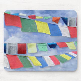 Tibetan Prayer Flags Mouse Pad