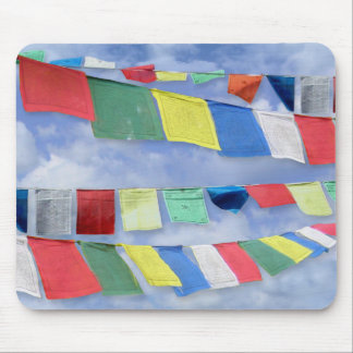 Tibetan Prayer Flags Mouse Pads