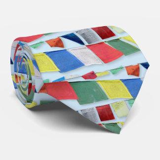 Tibetan Prayer Flags Tie