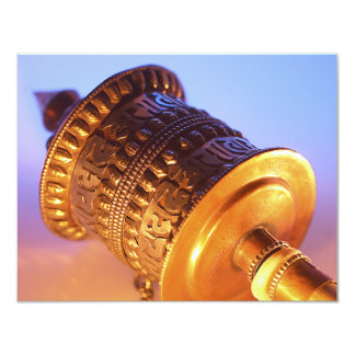 Tibetan Prayer Wheel Card