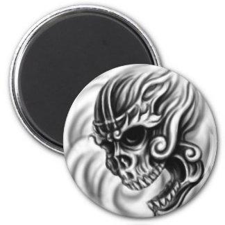 Tibetan Skull Magnet
