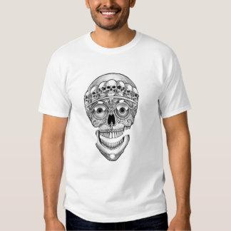 tibetan skull tee shirt