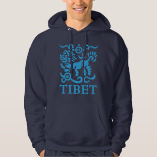 Tibetan Snow Lion Hoodie