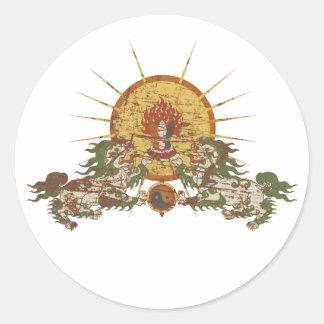 Tibetan Snow Lion Stickers