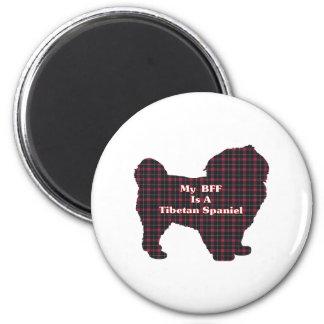 Tibetan Spaniel BFF Gifts Magnet
