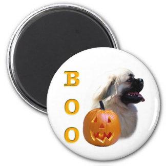 Tibetan Spaniel Boo Magnet