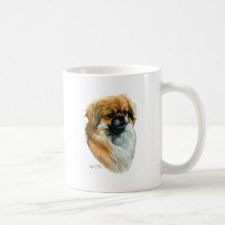 Tibetan Spaniel Classic White Coffee Mug