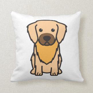 Tibetan Spaniel Dog Cartoon Pillow