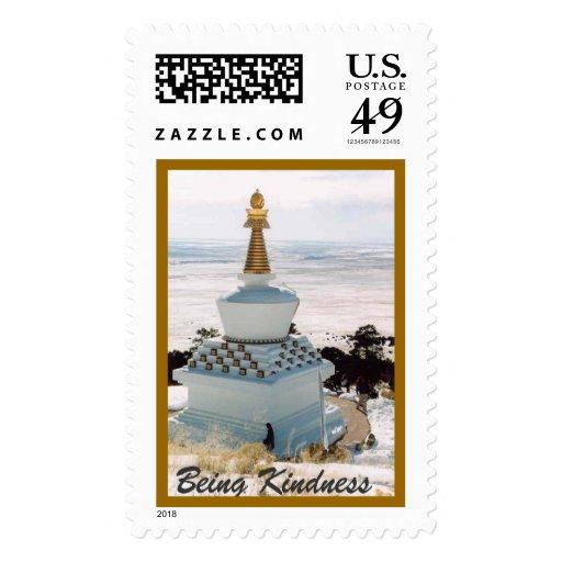 Tibetan Stupa in Colorado Stamps