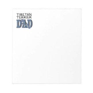 Tibetan Terrier DAD Memo Notepads