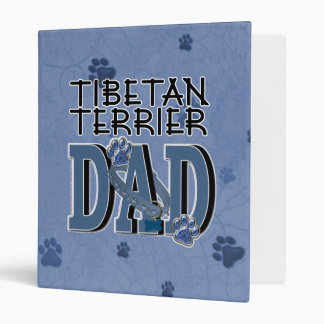 Tibetan Terrier DAD Vinyl Binders