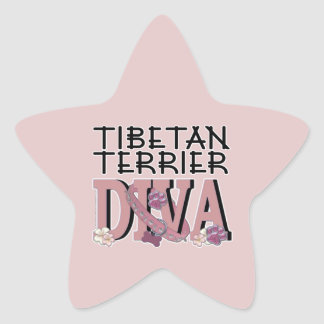 Tibetan Terrier DIVA Sticker