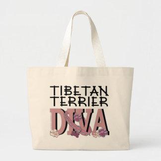 Tibetan Terrier DIVA Tote Bag