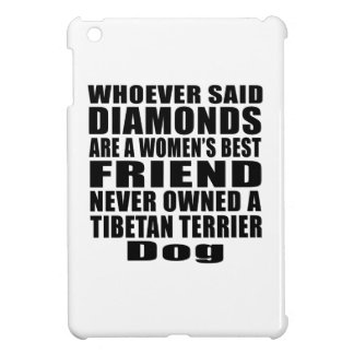 TIBETAN TERRIER DOG BEST FRIEND DESIGNS COVER FOR THE iPad MINI
