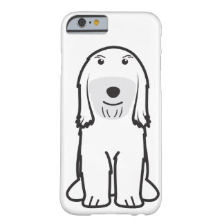 Tibetan Terrier Dog Cartoon Barely There iPhone 6 Case