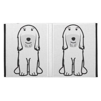 Tibetan Terrier Dog Cartoon iPad Cases