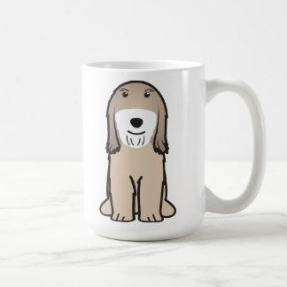 Tibetan Terrier Dog Cartoon Coffee Mug