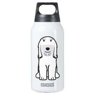 Tibetan Terrier Dog Cartoon Insulated Water Bottle