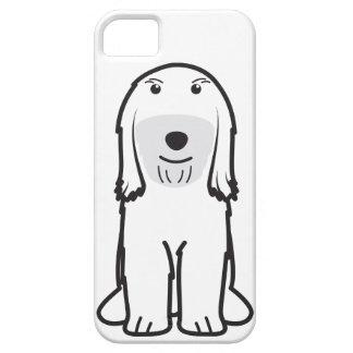 Tibetan Terrier Dog Cartoon iPhone SE/5/5s Case
