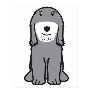 Tibetan Terrier Dog Cartoon Postcard