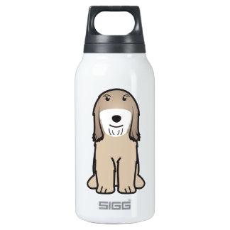 Tibetan Terrier Dog Cartoon Thermos Water Bottle