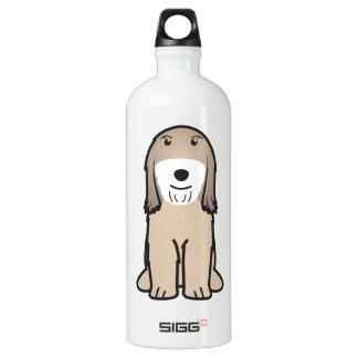 Tibetan Terrier Dog Cartoon Water Bottle