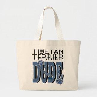 Tibetan Terrier DUDE Canvas Bag