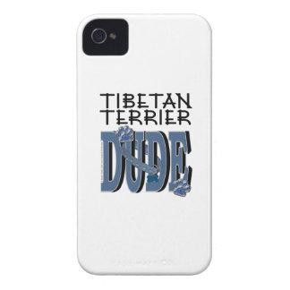 Tibetan Terrier DUDE Case-Mate iPhone 4 Case