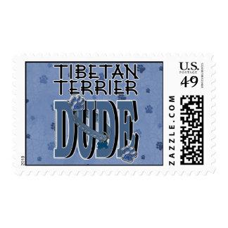 Tibetan Terrier DUDE Stamps