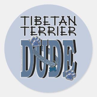 Tibetan Terrier DUDE Sticker