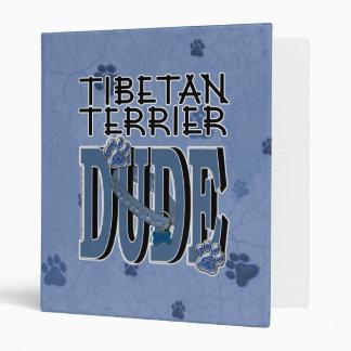 Tibetan Terrier DUDE Vinyl Binders