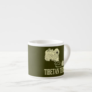 Tibetan Terrier Espresso Cup