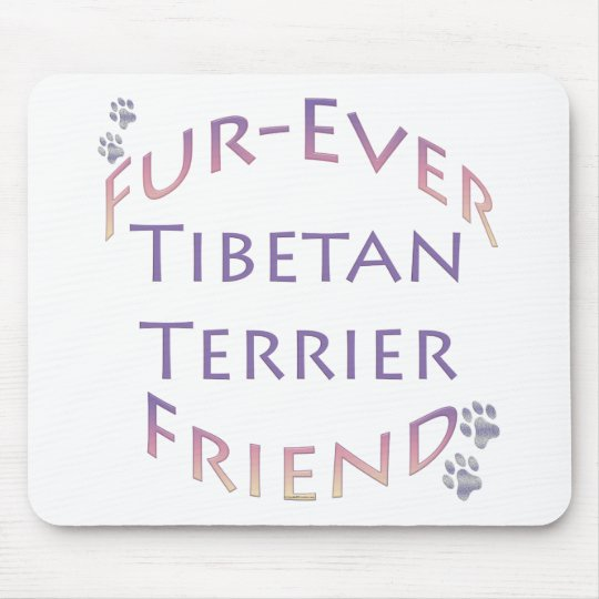 Tibetan Terrier Furever Friend Mouse Pad