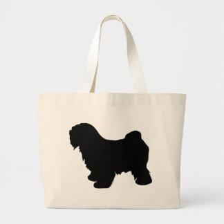 Tibetan Terrier Gear Large Tote Bag