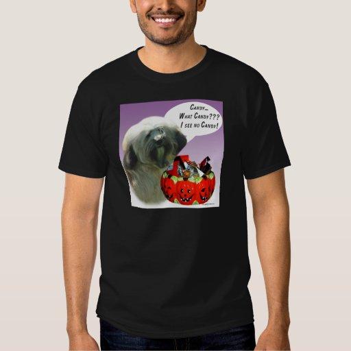 Tibetan Terrier Halloween Candy T-Shirt