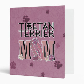 Tibetan Terrier MOM 3 Ring Binders